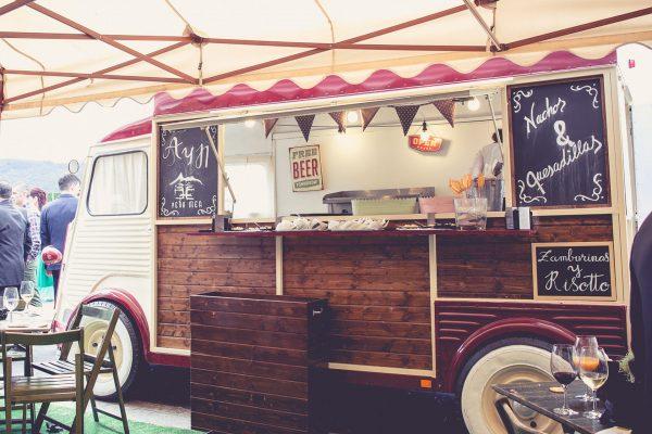 food truck para eventos en exteriores