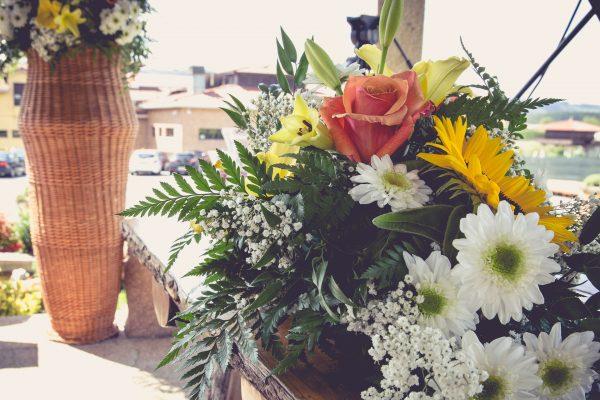 celebración evento, decoración exteriores floral
