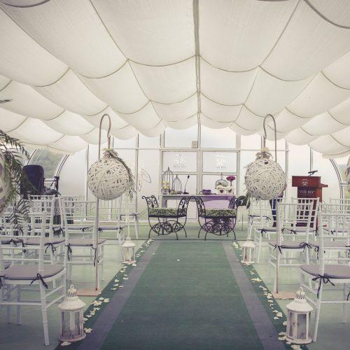 bodas en exterior montaje ceremonias