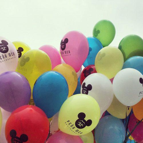 primeras comuniones, decoración con globos