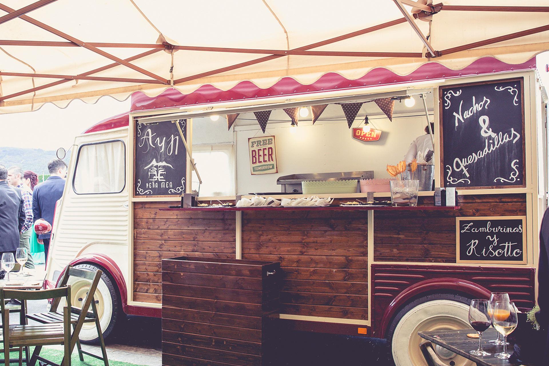 food truck eventos exterior